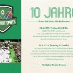 10 Jahre Green Hotspots